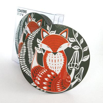 Coaster Set - Fox