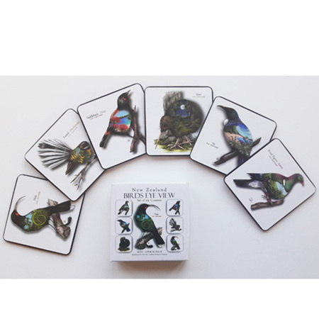 Coasters - Boxed Set of 6 - Birds Eye View
