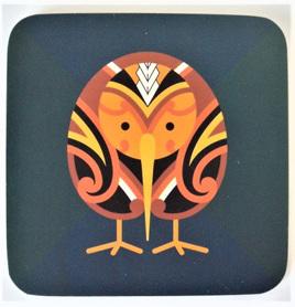 Coasters: Tribal Kiwi