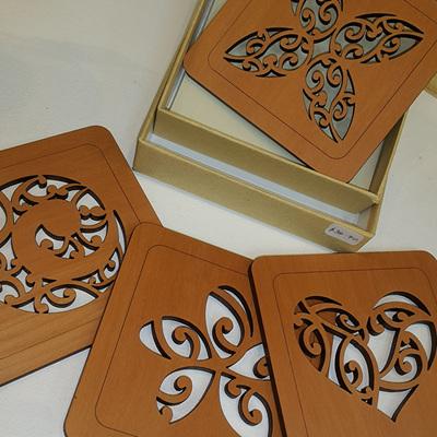 Coasters Wood Kowhai