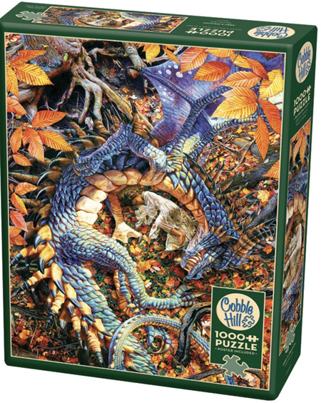 Cobble Hill 1000 Piece Jigsaw Puzzle: Abby's Dragon