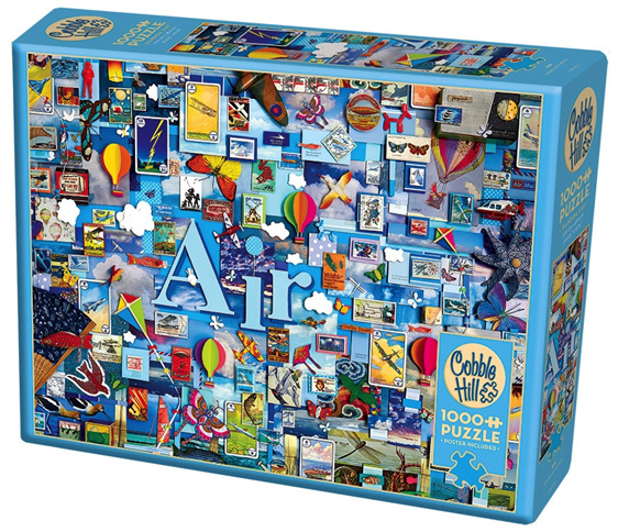 Cobble Hill 1000 piece jigsaw puzzle Air buy at www.puzzlesnz.co.nz