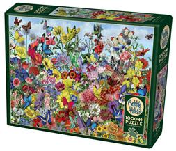Cobble Hill 1000 Piece Jigsaw Puzzle: Butterfly Garden