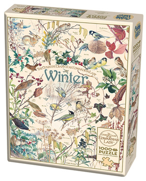 Cobble Hill 1000 Piece Jigsaw Puzzle:  Country Diary - Winter