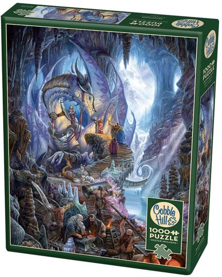 Cobble Hill 1000 Piece Jigsaw Puzzle: Dragonforge