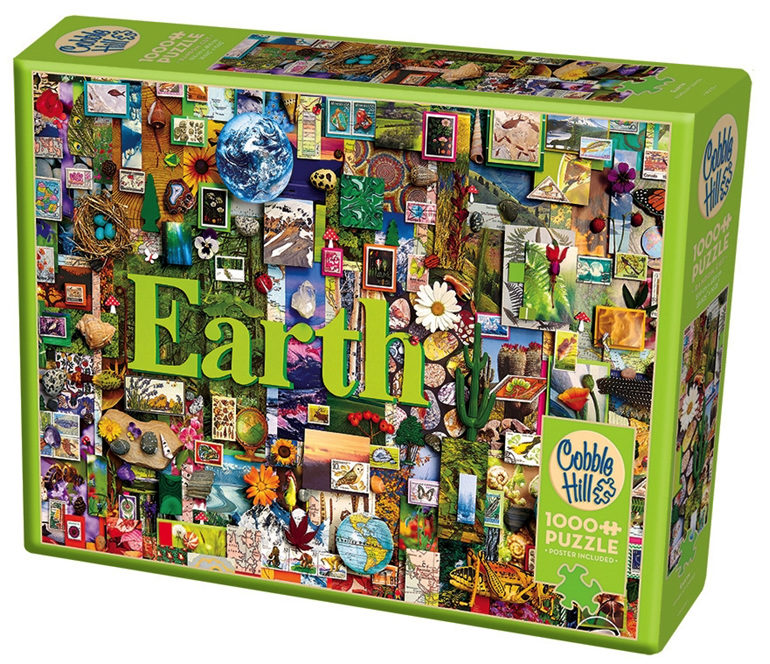 Cobble Hill 1000 piece jigsaw puzzle Earth buy at www.puzzlesnz.co.nz