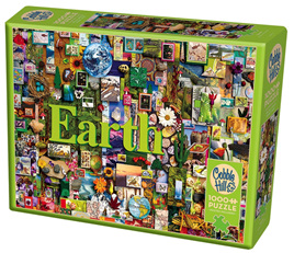 Cobble Hill 1000 Piece Jigsaw Puzzle: Earth