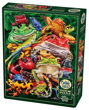 Cobble Hill 1000 Piece Jigsaw Puzzle: Frog Business