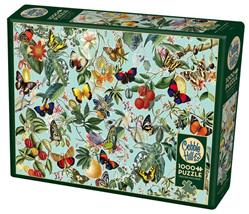 Cobble Hill 1000 Piece Jigsaw Puzzle: Fruit & Flutterbies