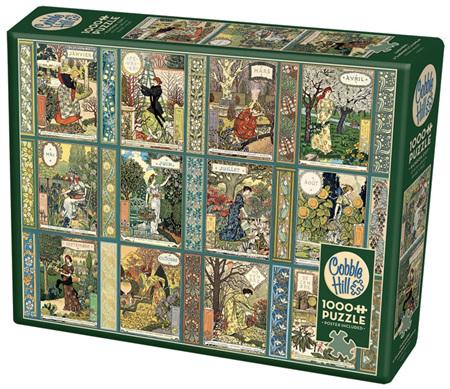 Cobble Hill 1000 Piece Jigsaw Puzzle: Jardiniere: A Gardener's Calendar