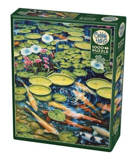 Cobble Hill 1000 Piece Jigsaw Puzzle: Koi Pond