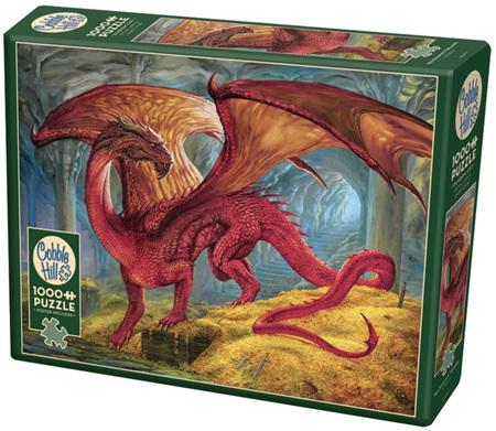 Cobble Hill 1000 Piece Jigsaw Puzzle: Red Dragon Treasure