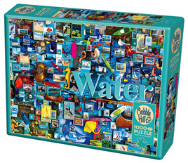 Cobble Hill 1000 Piece Jigsaw Puzzle: Water