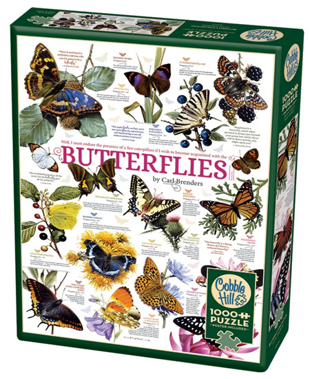 Cobble Hill 1000 Pieces Jigsaw Puzzle: Butterfly Collection