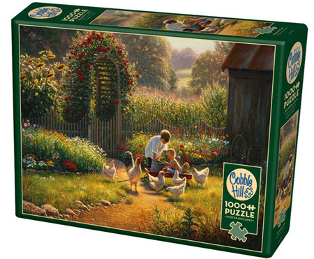 Cobble Hill 1000 Pieces Jigsaw Puzzle: Feeding Time