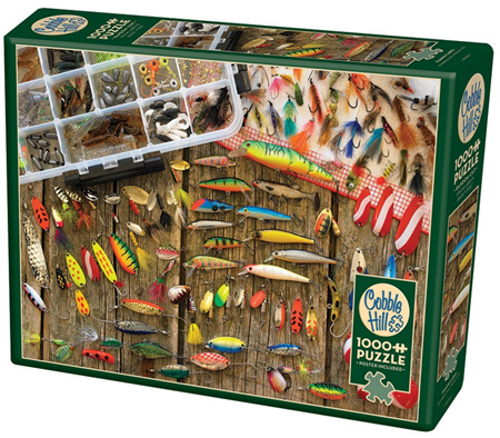 Cobble Hill 1000 Pieces Jigsaw Puzzle: Fishing Lures