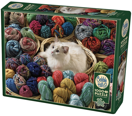 Cobble Hill 1000 Pieces Jigsaw Puzzle: Fur Ball