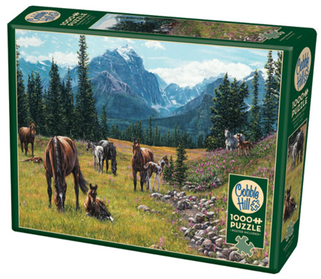 Cobble Hill 1000 Pieces Jigsaw Puzzle: Horse Meadow