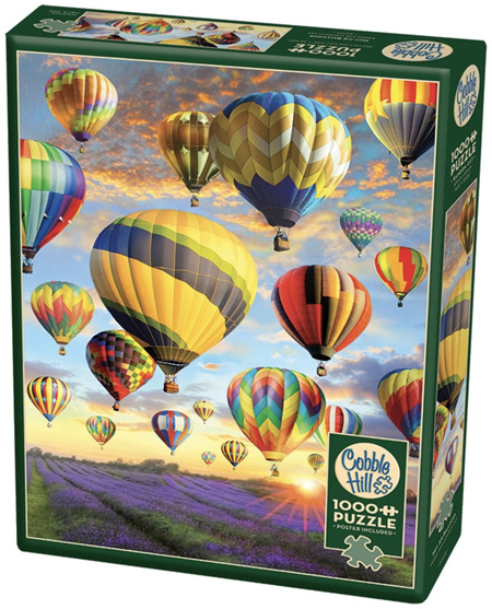 Cobble Hill 1000 Pieces Jigsaw Puzzle: Hot Air Balloons