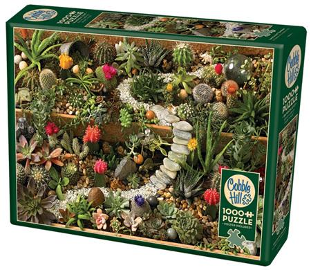 Cobble Hill 1000 Pieces Jigsaw Puzzle: Succulent Garden