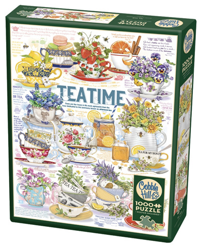 Cobble Hill 1000 Pieces Jigsaw Puzzle: Teatime