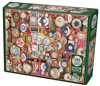 Cobble Hill 1000 Pieces Jigsaw Puzzle: Timepieces