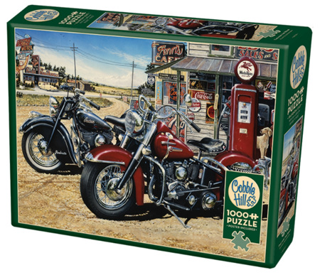Cobble Hill 1000 Pieces Jigsaw Puzzle: Two For The Road
