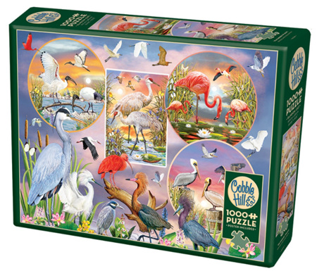 Cobble Hill 1000 Pieces Jigsaw Puzzle: Waterbird Magic