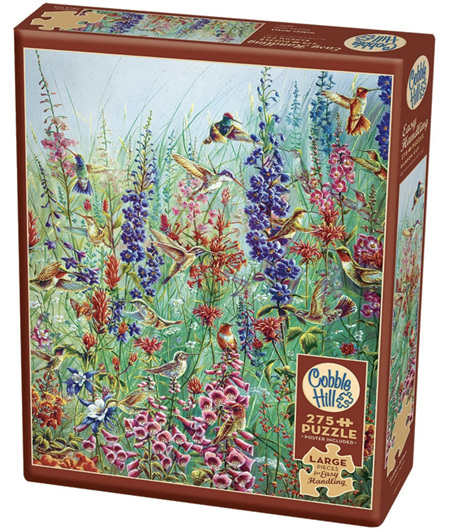 Cobble Hill 275 Easy Handling  Large Pieces Jigsaw Puzzle: Garden Jewels
