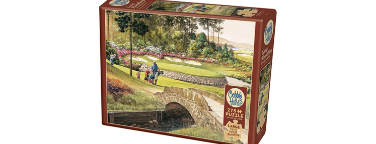 Cobble Hill 275 Larger Sized Easy Handling Pieces Jigsaw Puzzle : Golf Course  $19.95