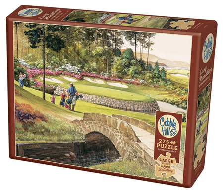 Cobble Hill 275  Larger Sized Easy Handling  Pieces Jigsaw Puzzle : Golf Course