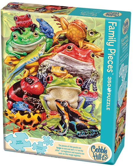 Cobble Hill 350 Pieces  Family Jigsaw Puzzle: Frog PIle