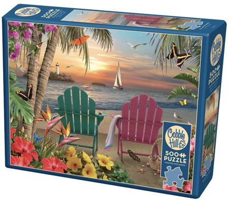 Cobble Hill 500 Pieces Jigsaw Puzzle: Island Paradise