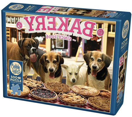 Cobble Hill 500 Pieces Jigsaw Puzzle: Who Wants Pie