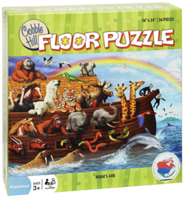 Cobble Hill Noah's Ark 36 Piece Floor Puzzle