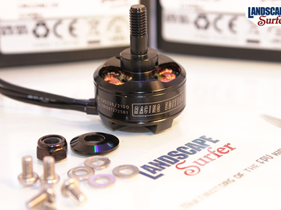 Cobra 2206/20 2100kv 3-4S Brushless Motor - Integrated Bell
