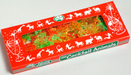 Cocktail Animals box of 100