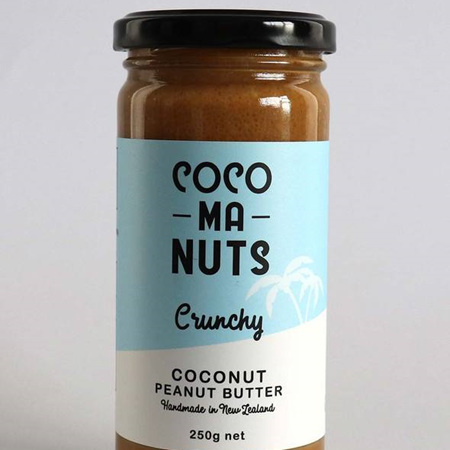 Cocomanuts Crunchy Coconut Peanut Butter 250g