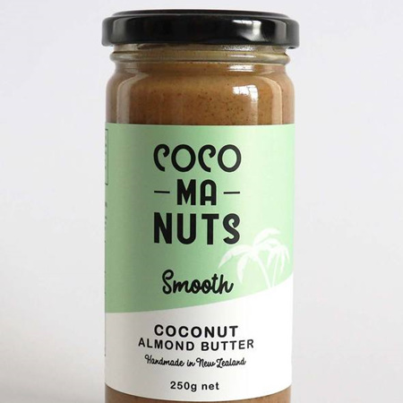 Cocomanuts Smooth  Coconut Almond Butter 250g