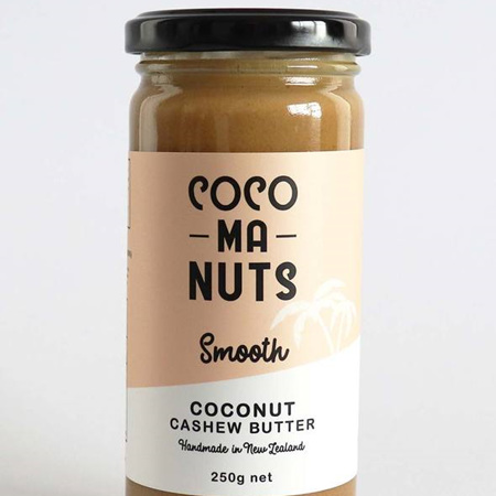 Cocomanuts Smooth Coconut Cashew Butter 250g