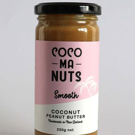 Cocomanuts Smooth Coconut Peanut Butter 250g