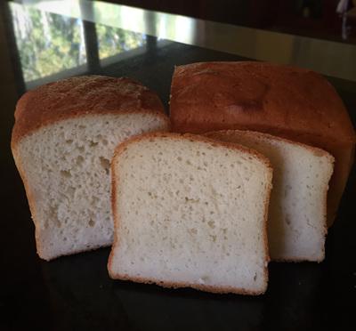 Coconut Rice Bread - GLUTEN FREE