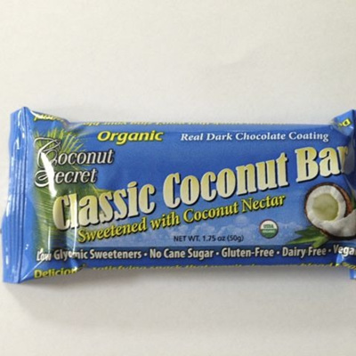 Coconut Secret Organic Natural Coconut Bar