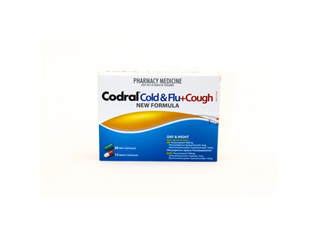 Codral Cold, Flu & Cough