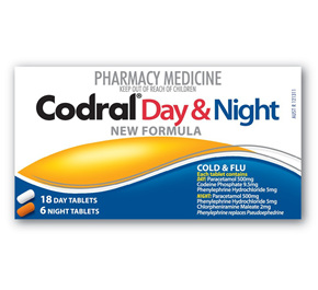 Codral PE Day & Night Tabs 24