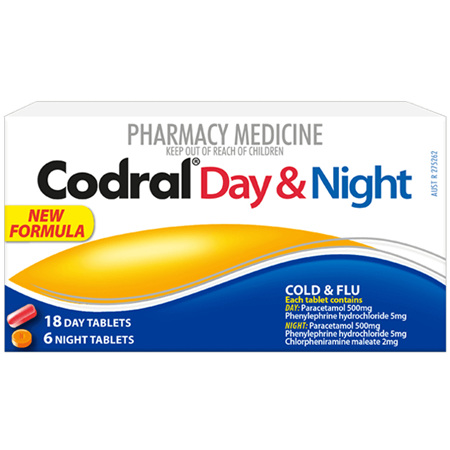 Codral Day & Night Tablets