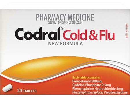 CODRAL PE Cold & Flu Tabs 24