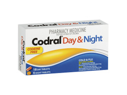 CODRAL PE Day & Night C.F. Tabs 24