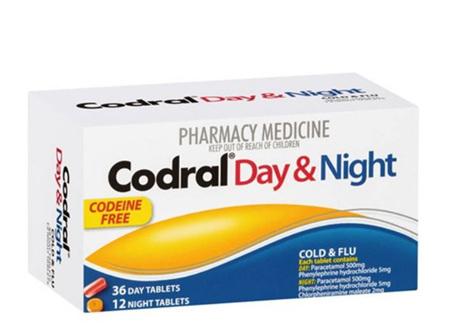 CODRAL PE Day & Night C.F. Tabs 48