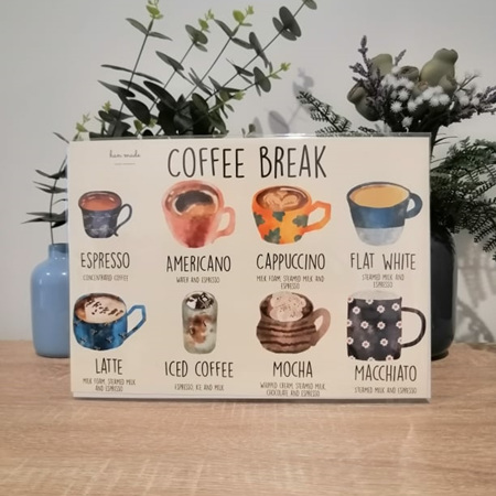 Coffee Break A4 Print